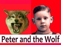 Prokofiev's Peter and The Wolf on Vinyl LP Records